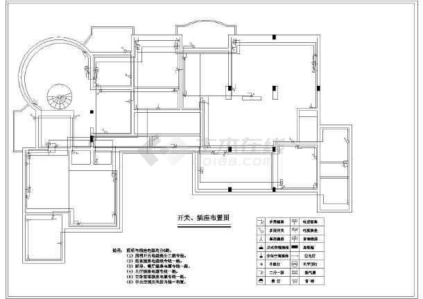 房屋室内照明装修设计图