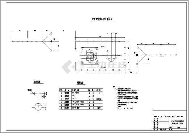 烟囱避雷针设计_平面避雷针设计大全免费下载三大烟囱世界设计师图片