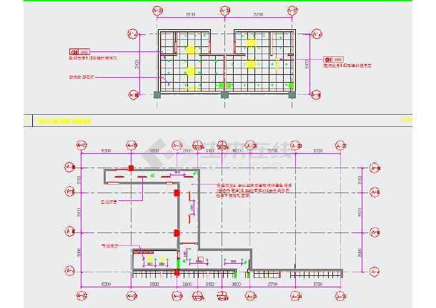 a夹层夹层图纸竣工办公室装修cadv夹层行政图(标酒店平均分布eq简写图片