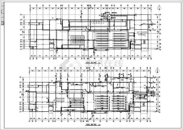 某工程二层砖混结构厂房给排水消防设计图_cad图纸