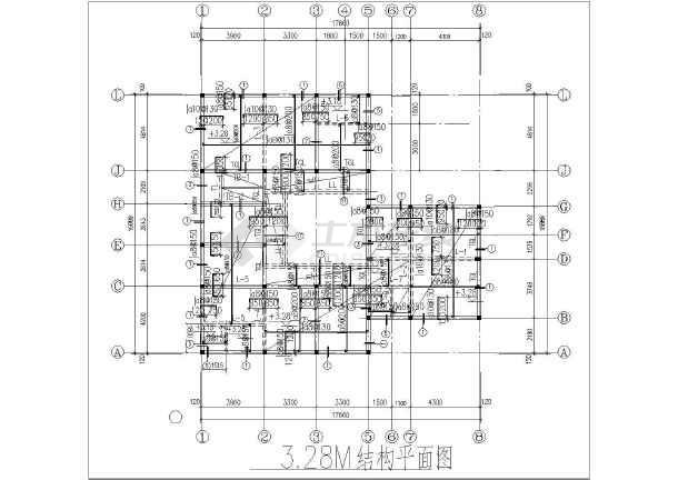 某地区新农村小户型住宅结构施工图纸