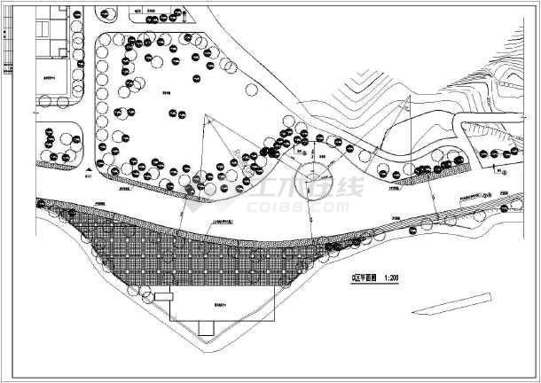 某公司自主设计旅游景区规划说明图纸