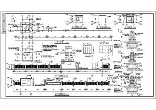 某厂区门卫室及围墙建筑设计图纸图纸2006重建年青州龙兴寺方案v厂区图片