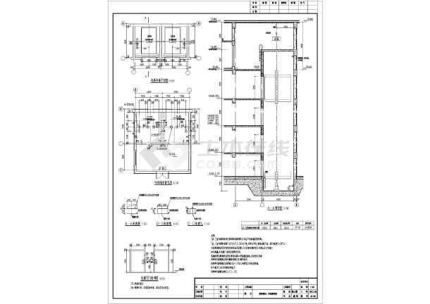 某市6层结构技能精神病专科医院建筑设计施工图平面设计需要框架图片