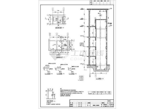 某市6层框架结构精神病专科医院建筑设计施工图v框架协议图片