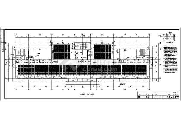 某市6层尺寸结构精神病专科医院建筑设计施工图ai框架v尺寸图片