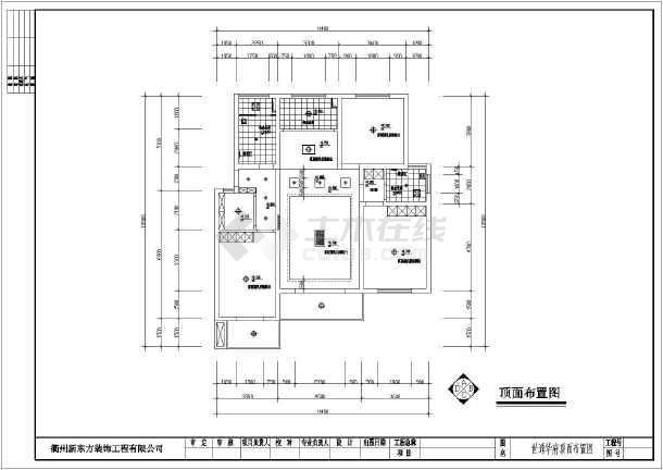 某三室两厅室内装修设计方案图(两套)