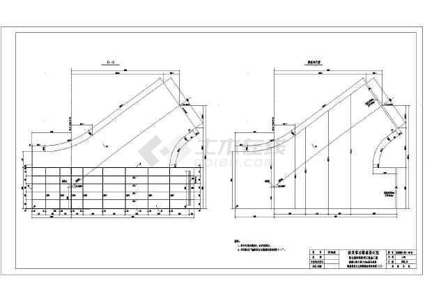 某高铁大型系杆式叠合拱桥箱梁设计图