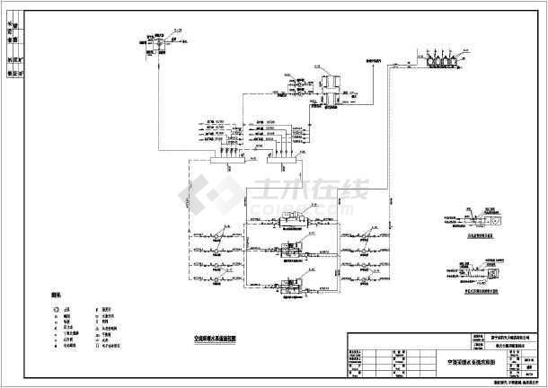 某酒店蒸汽锅炉房设计图