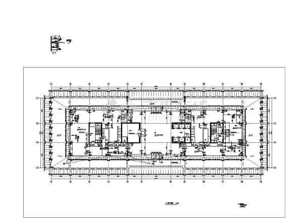 图纸 建筑图纸 办公楼设计 高层办公楼 某地19层高层办公楼建筑施工图