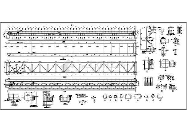 单臂吊车结构图纸