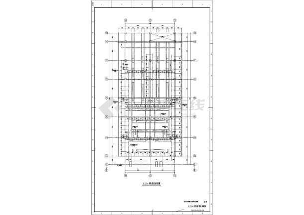 某地区火电厂集控楼结构设计施工图