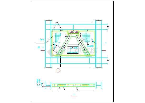 某钢结构售楼处节点cad全套设计施工图纸-图2