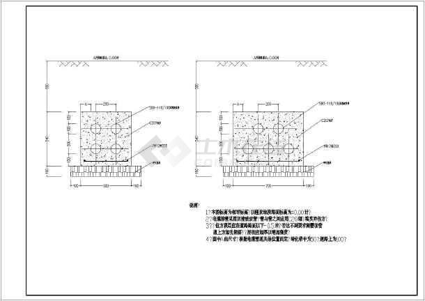 某大样电缆井平面设计CAD工厂图辰浩cad8exekeygen.图片