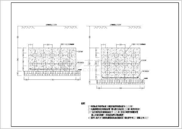 某工厂电缆井平面设计CAD大样图cad显示不了出来打印底图图片