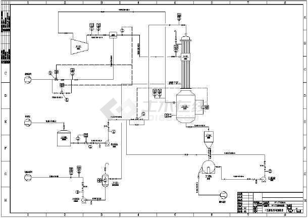 MVRv工艺工艺流程图_cad图纸下载cad高手速成文库百度图片