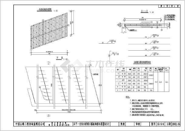 某小桥梁16m预应力空心板桥设计全套图纸