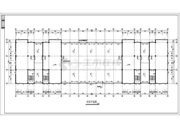 局部四层,图纸内容包含:建筑设计说明,各层平面图,屋顶平面图,各立面图片