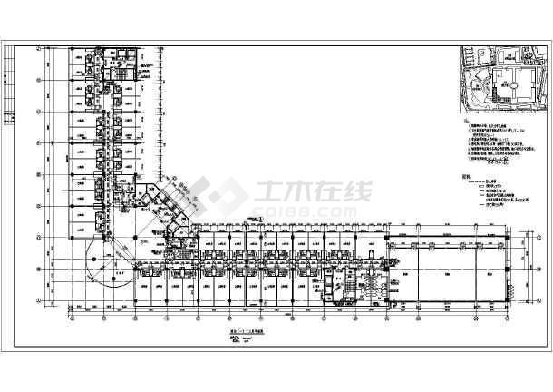 某地高层框架结构星级酒店建筑设计方案图纸