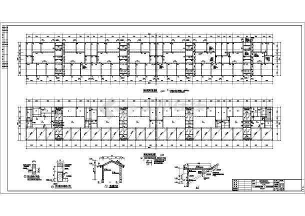 某三层框架结构别墅图
