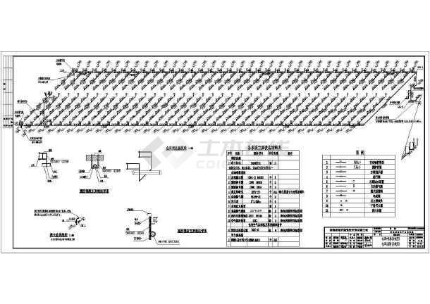 某跨钢结构水暖库建筑结构全套照明图纸图_c能折棉花装订的视频图片