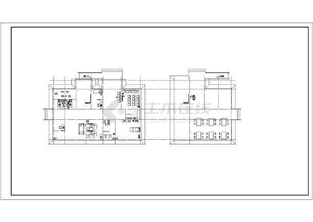 乡镇门诊综合楼建筑,结构施工图纸