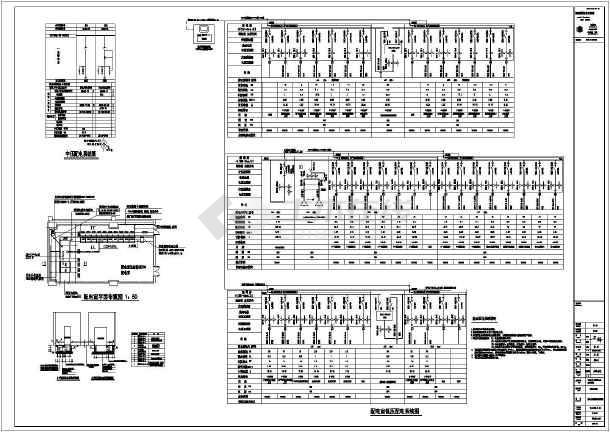 大学教学实训楼电气设计图