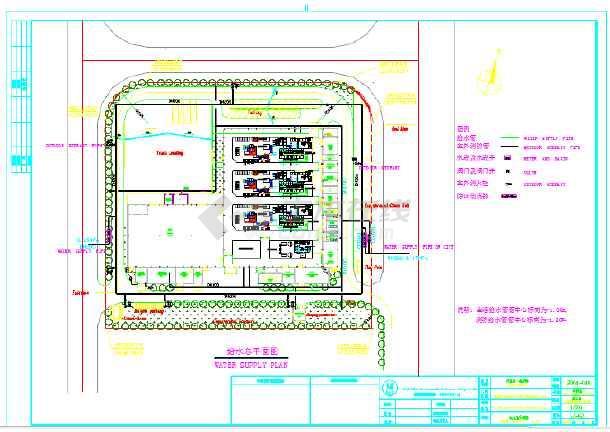仓库消防平面图