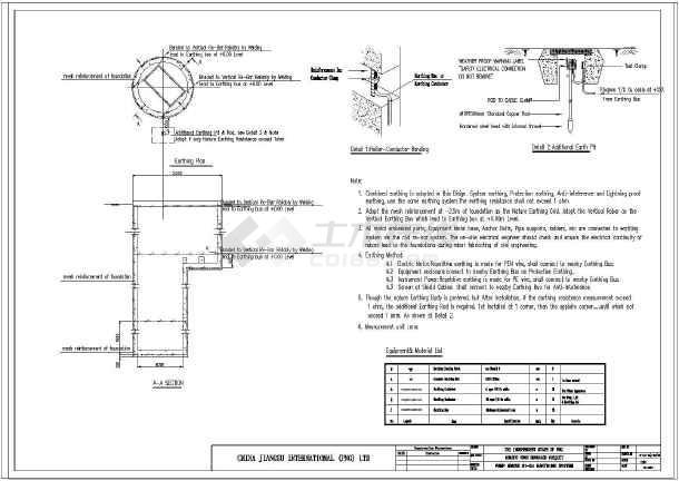 国外泵站图纸设计(英文版)_cad电气下载cad日照怎么分析来导出图片
