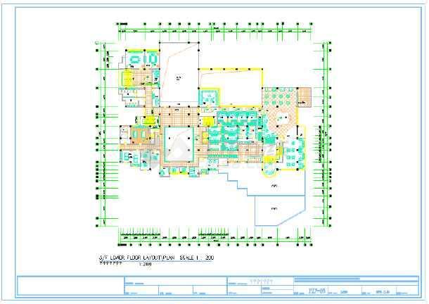 【青岛】某星级酒店平面图(共9张图)