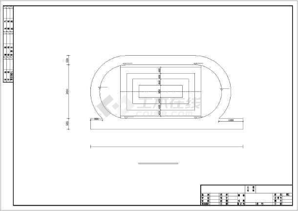 塑胶跑道施工图