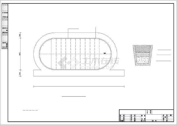 某实验小学200米塑胶跑道标准操场cad平面建筑设计施工图