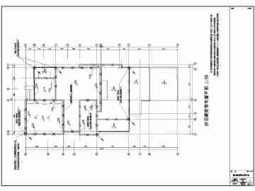 某四层的双拼式别墅水电设计施工图