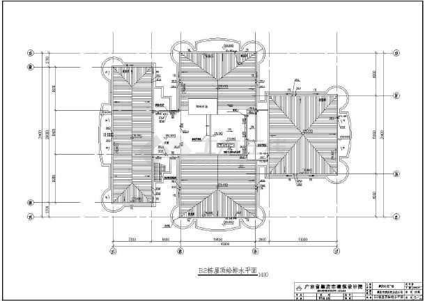 住宅建筑给排水施工图 带大地下室图片