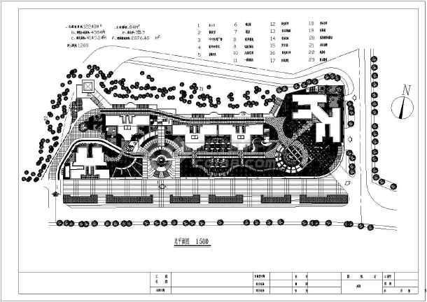 某小公园全套景观设计规划说明图纸