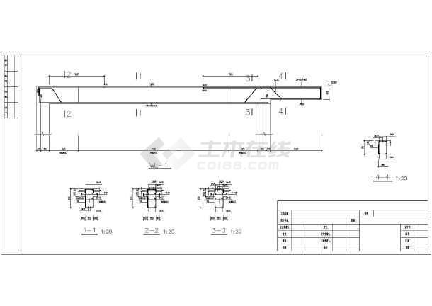 某地二層磚混結構房屋結構設計施工圖