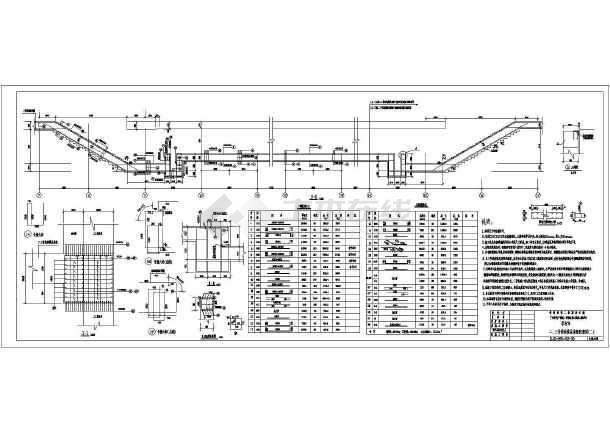 广州高层形式结构设计施工图(明挖地铁)_cad图su住宅车站cad图片