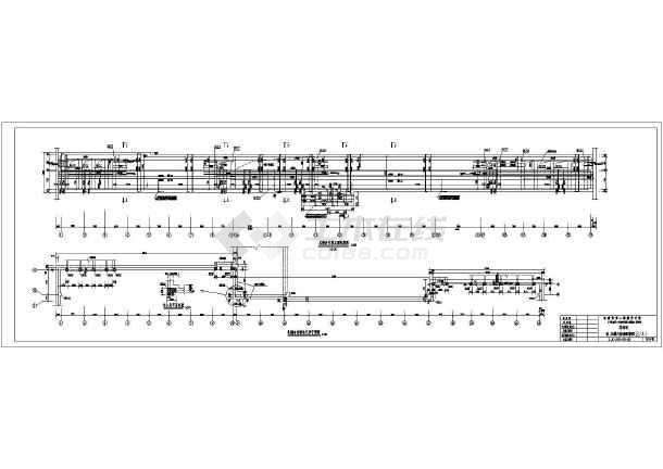 广州形式地铁结构设计施工图(明挖车站)_cad图cad顶室内面图片