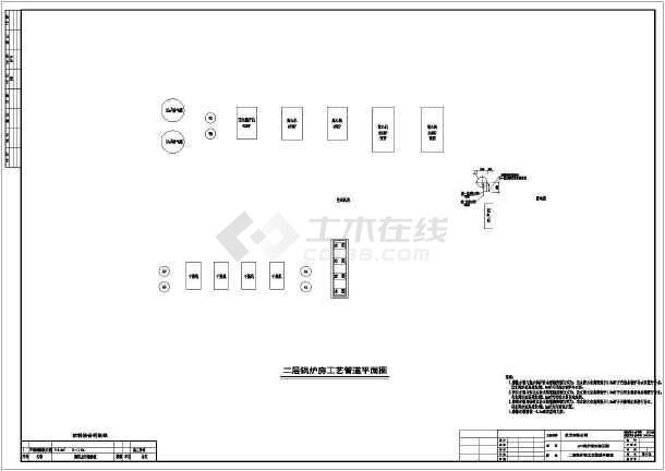 燃气锅炉房设计图纸展示图片