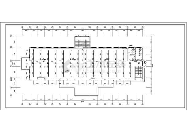 某四层办公楼消防v气缸管道系统施工图_cad图气缸套cad图纸图片