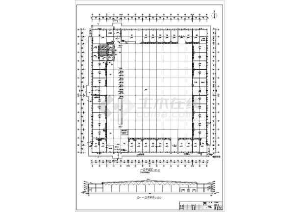 某商场建筑平面设计图