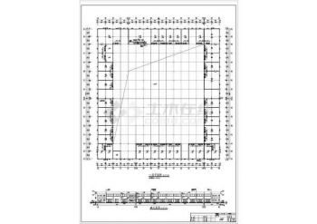 【卫生间图纸】某商场建筑平面设计图_cad图如何认详图ppt图片