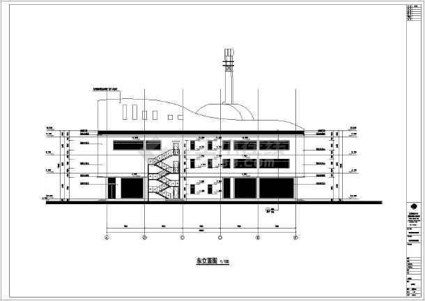 霸州项目钢琴会所建筑设计施工图纸图片