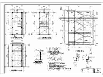 某地5f砖混结构小私房全套施工图纸(建结水电)