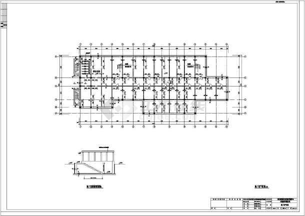 三层别墅建筑设计图纸 三层框架结构设计图 三层混泥土框架结构农村