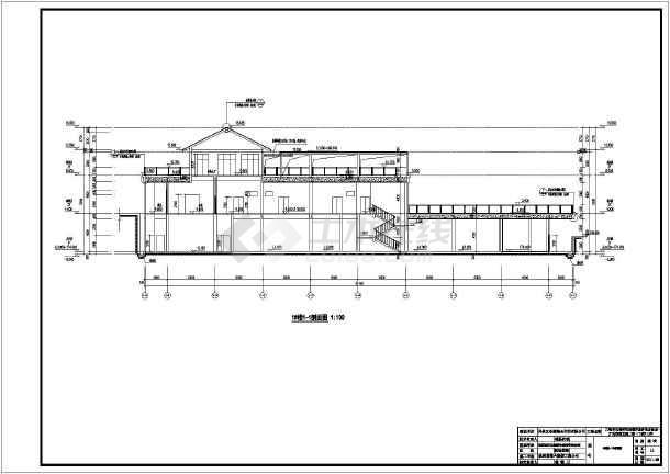 某生态修复景观二期建筑设计竣工图