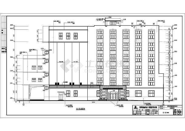 新建图纸全套标准家装施工图(含建筑、小麦、v图纸制粉结构车间图片