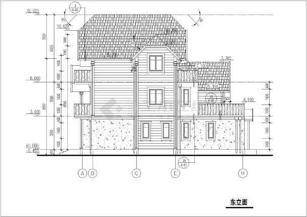 49米农村自建房建筑结构图