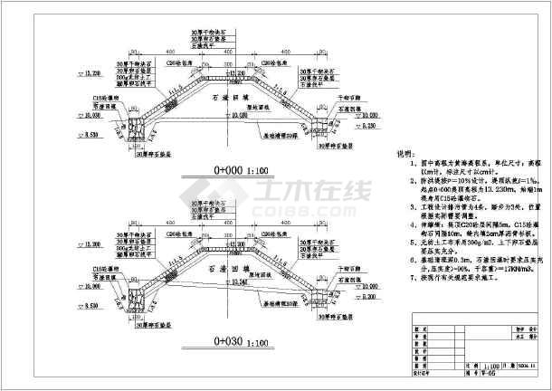 设计重力式挡土墙设计图重力式桥墩设计图重力式衡重