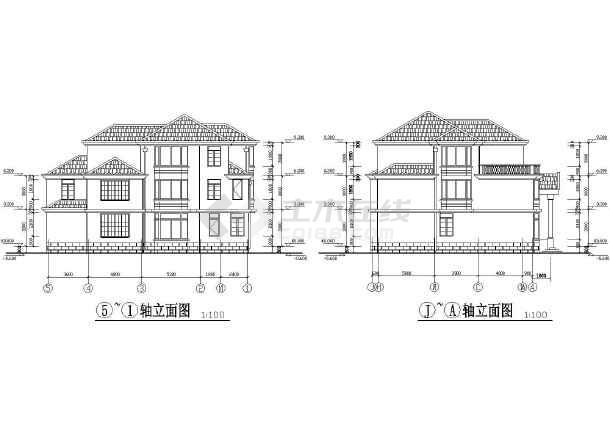 农村房屋屋顶设计图